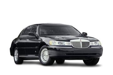 Lincoln Town Car Noir - Limousine Krystal