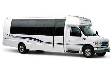 minibus blanc - Limousine Krystal