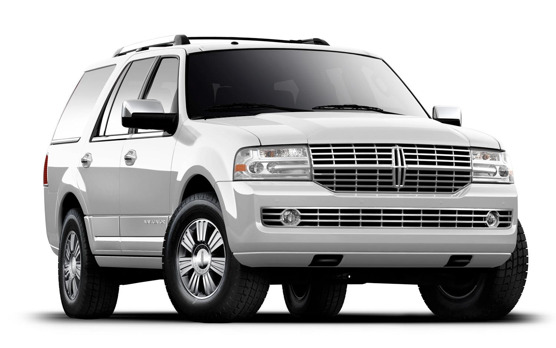 6 Passenger White Lincoln Navigator Limousine Krystal