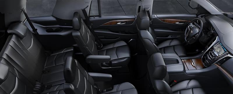 Cadillac Escalade Black Interior