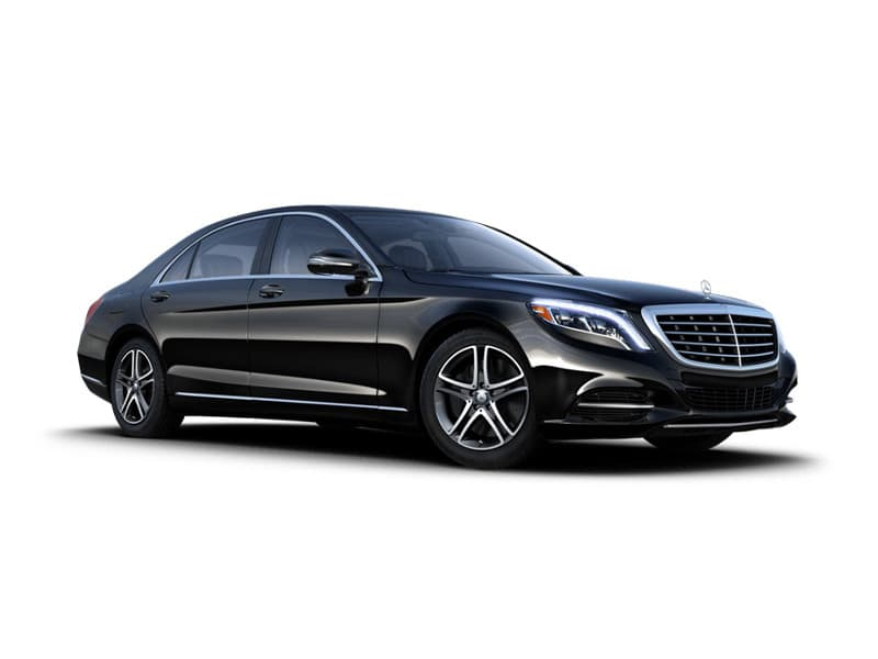 Mercedes S-550 Passager side